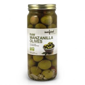 Organic Manzanilla Olives