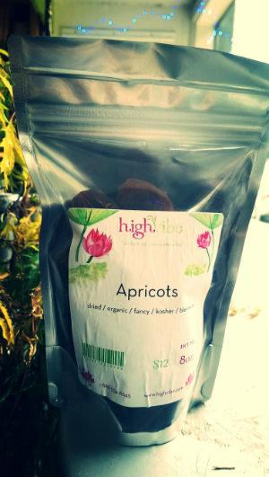 Apricots Dried / Organic / High Vibe Bulk 8oz