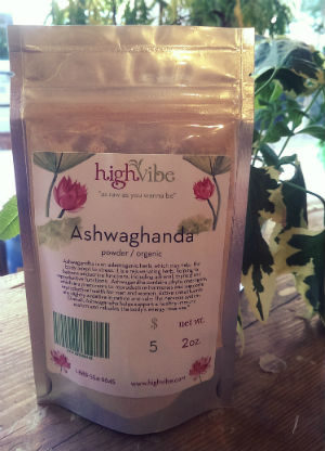 Ashwaghanda Powder / Organic / High Vibe Bulk 2oz