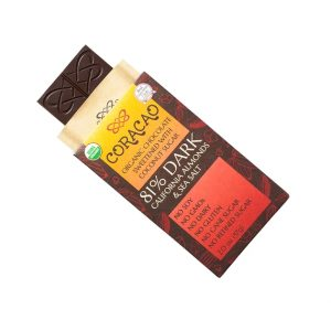 Coracao Chocolate Smoked Salt & Almond Bar 2oz