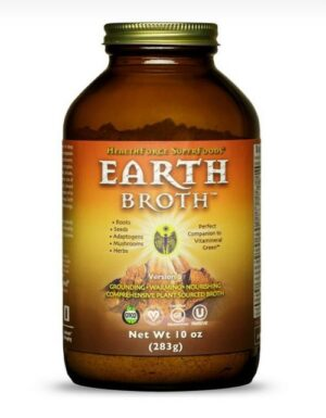 HealthForce Superfoods - EARTH Broth, 10 ounces POWDER