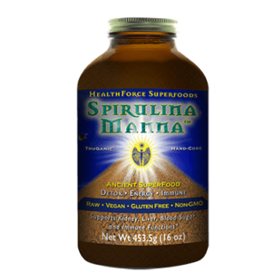 HealthForce Superfoods - Spirulina Manna, 16 oz / 454 Grams Powder