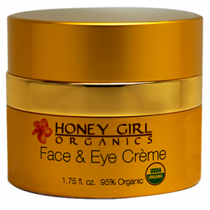 Honey Girl Organics Face & Eye Creme 1.75 floz