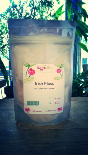 HighVibe- Wild Crafted Irish Moss Powder