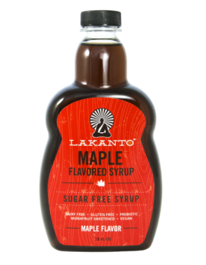 Lakanto Maple Flavored Sugar Free Syrup 13 fl oz