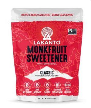 Lakanto White - Economy Size - 235 gram pouch