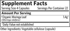 Organic India - Moringa - 90 caps