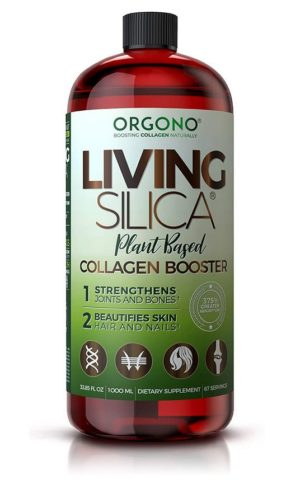 Orgono Plant Based Living Silica 33.85 fl oz.