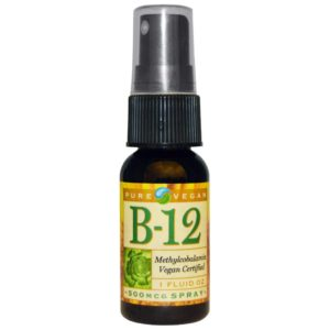 Pure Vegan B-12 spray