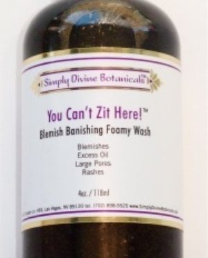 Simply Divine You Can't Zit Here Blemish Banishing Foamy Wash