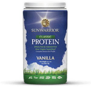 Sun Warrior Raw Vegan Protein Powder, Vanilla