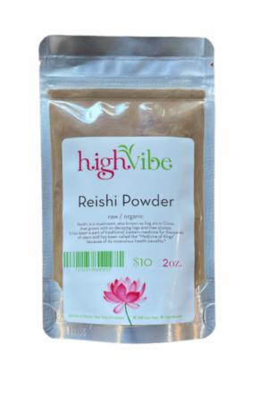 HighVibe- Reishi Mushroom Powder / Organic Bulk