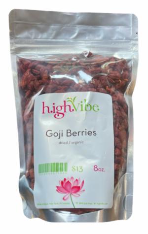 HighVibe -Goji Berries Dried / Organic- Bulk