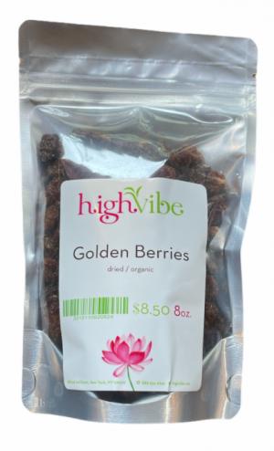 HighVibe- Golden Berries Dried / Organic - Bulk