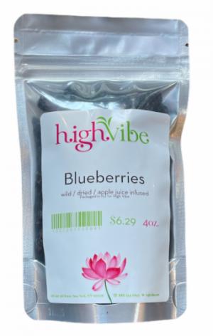HighVibe- Blueberries / Dried / Wild - Bulk 4oz