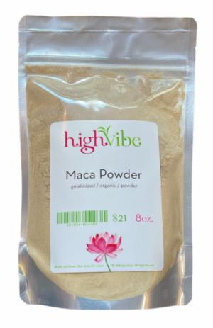 HighVibe- Maca Powder gelatinized / organic - 8oz