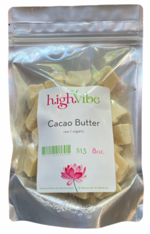 HighVibe- Organic Raw Cacao Butter