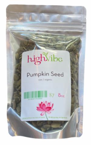 HighVibe- Pumpkin Seeds (raw, organic) - 8 oz