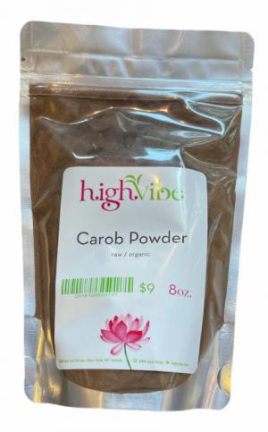 HighVibe-Carob Powder (raw, wildcrafted)