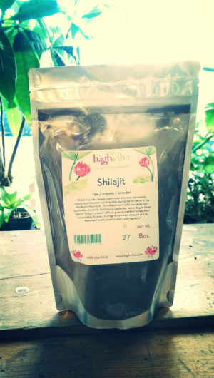 Shilajit raw / organic / powder