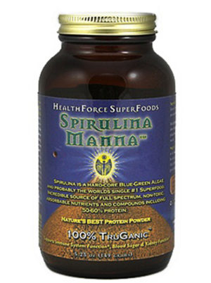 HealthForce Superfoods - Spirulina Manna 5.25oz / 149 Grams Powder