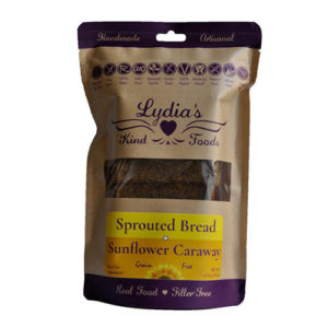 Lydia's Kind Foods Sunflower Caraway Seed Bread 6.75oz