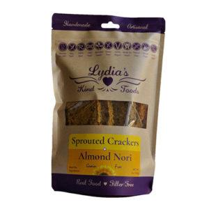 Almond Nori Crackers, Lydia's Organics