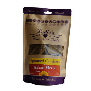 Lydia's Kind Foods Italian Herb Crackers 5oz