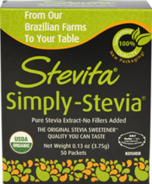 Stevia Powder - Stevita - 50 packets