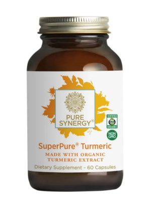 Pure Synergy Super Pure Turmeric Extract 60 caps