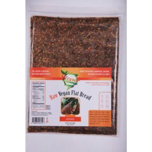 WrawP Raw Vegan Flat Bread, Asian
