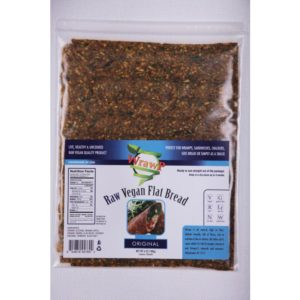 WrawP Raw Vegan Flat Bread, Original