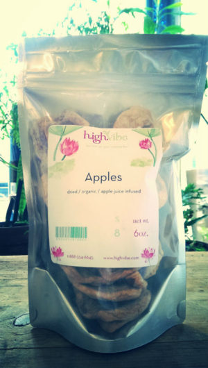 Apple Rings / Dried / Organic / Apple Juice Sweetened High Vibe Bulk 6oz