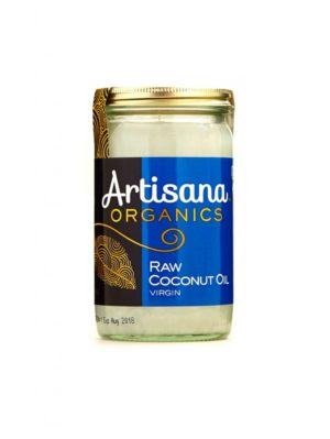 Coconut Oil (raw, organic) - 14 oz - Artisana