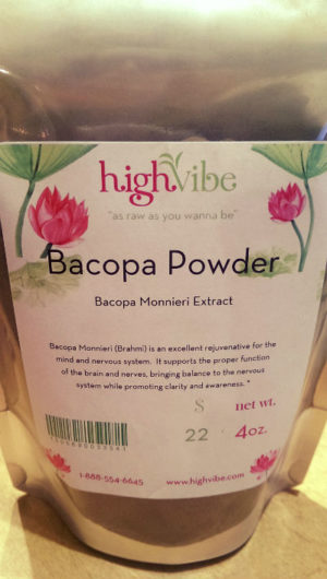 Bacopa Monnieri Extract Powder / Raw / Non-Gmo 4 oz