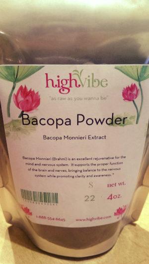Bacopa Monnieri Extract Powder / Raw / Non-Gmo 4 oz