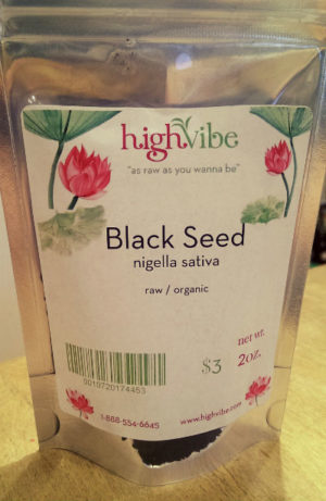 Black Seed (nigella sativa) Raw / Organic / High Vibe Bulk 2oz