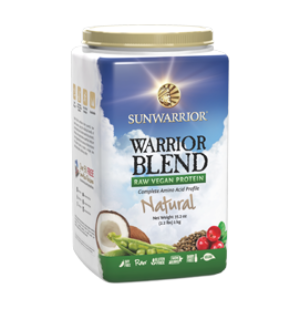 Sunwarrior Warrior Blend, Protein Powder, Natural