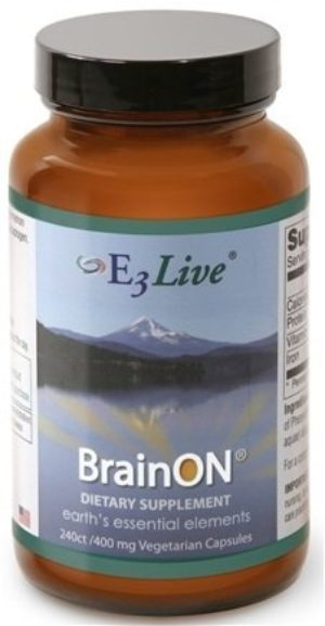 E3 Live Brain On 400mg 240 Capsules