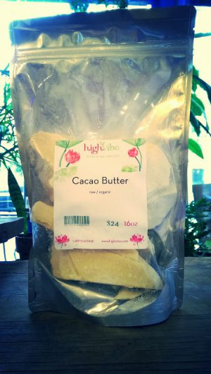 Organic Raw Cacao Butter