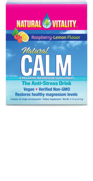 Natural Calm Single Serving Packets in Raspberry-Lemon flavor 30 single packets