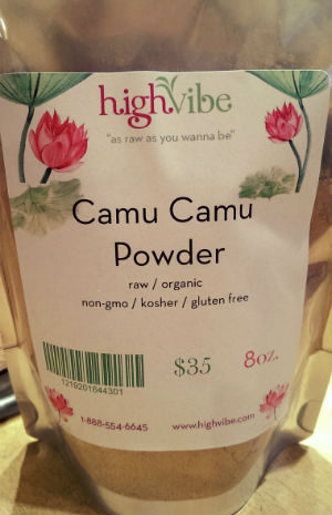 Camu Camu Powder Raw / Organic / High Vibe Bulk 8oz