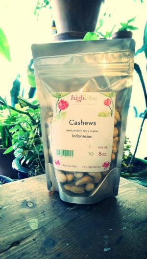 Cashews (raw, organic)
