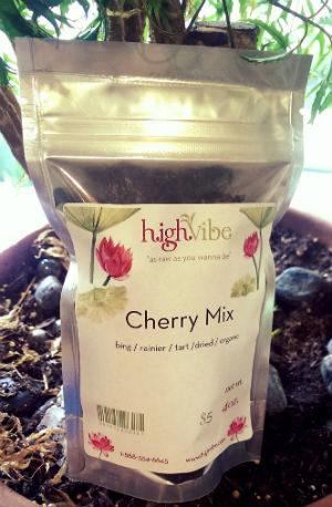 HighVibe- Cherry Mix Organic / Dried - Bulk 4oz