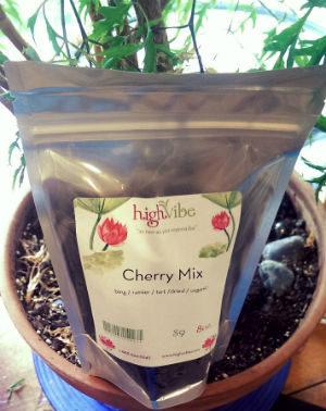 HighVibe- Cherry Mix Organic / Dried - Bulk 8oz