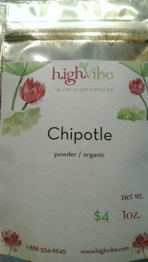 Chipotle Powder / Organic 1oz