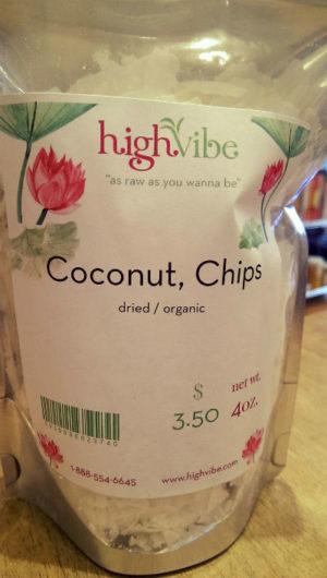 Coconut Flakes Dried / Organic / High Vibe Bulk 4oz