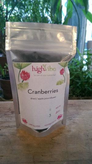 Cranberries / Dried / Organic / High Vibe Bulk