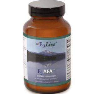 E3 Blue-Green Algae 400mg 120 Capsules