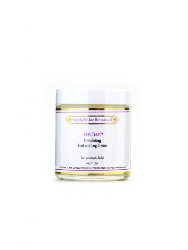 Simply Divine Feet Treat! - Stimulating Foot and Leg Cream, 4 oz